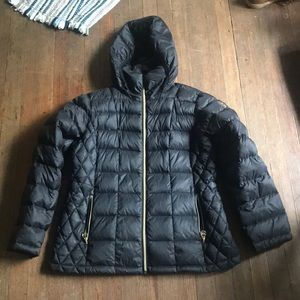 Michael Kors Black Puffy Winter Jacket